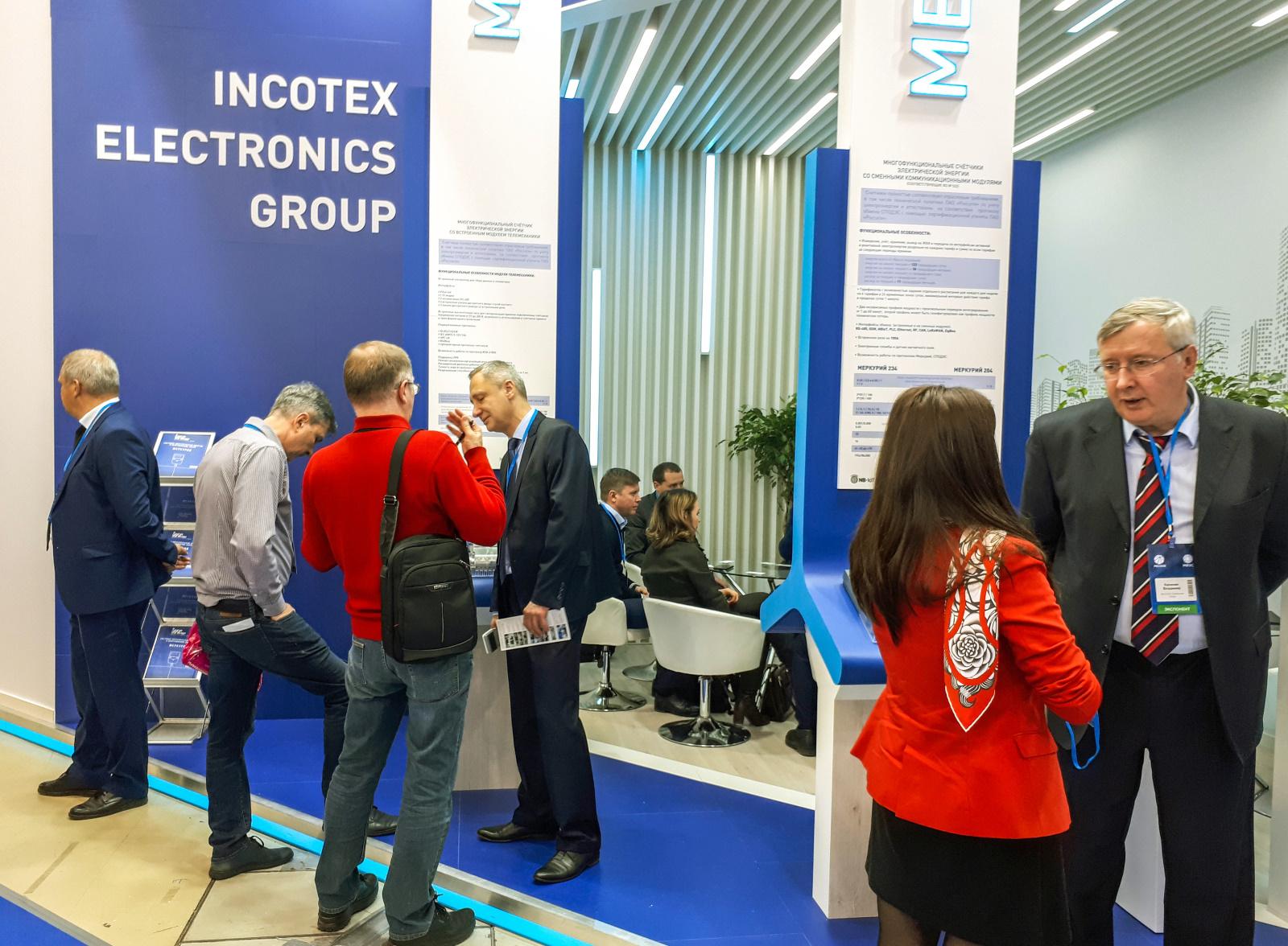 Консультации с посетителями стенда INCOTEX Electronics Group