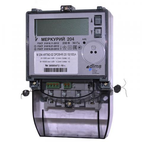 Меркурий 204 ARTM2-02 (D)POBHR.G5